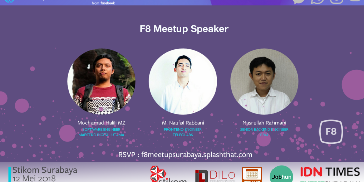 F8 – Facebook Developer Circles Surabaya