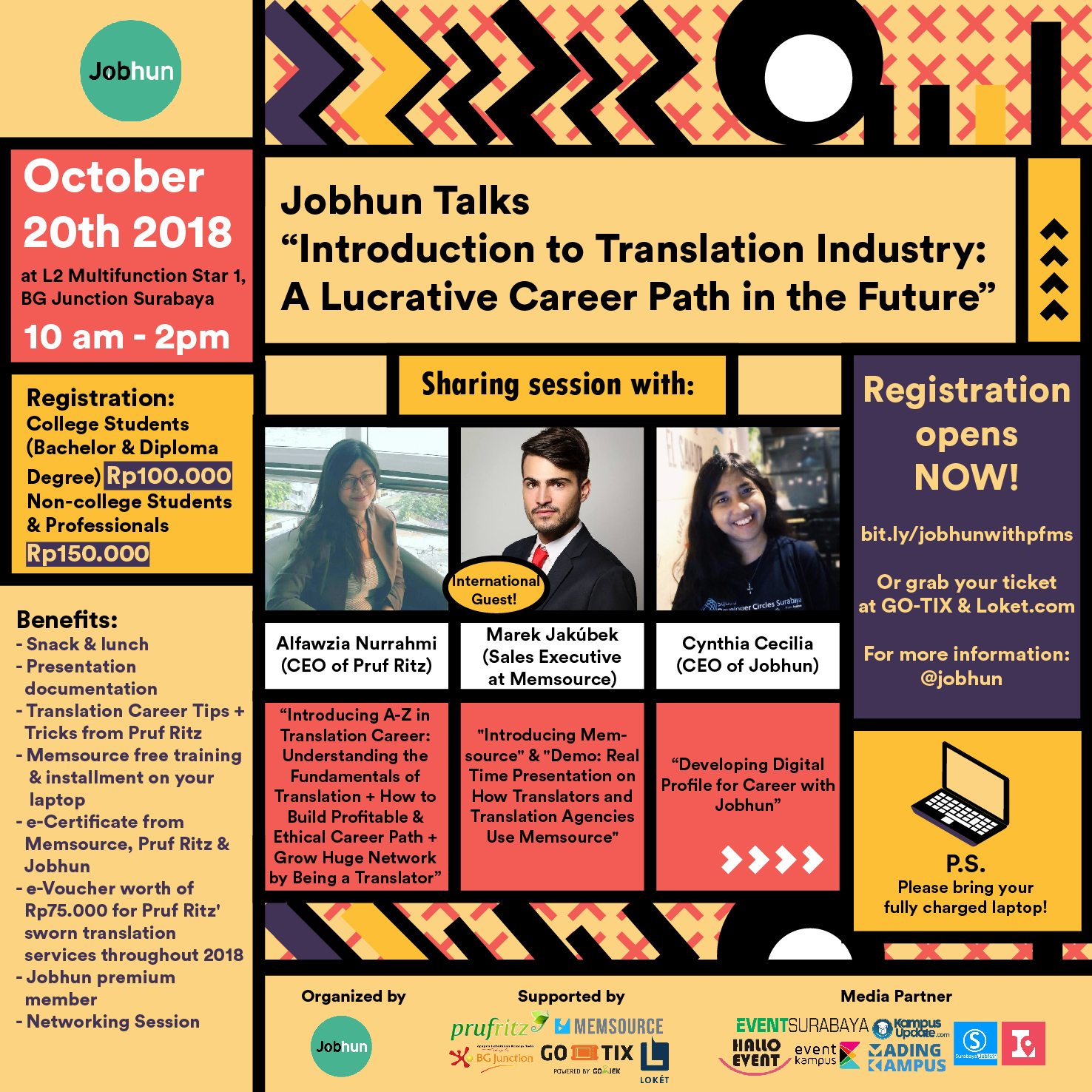 "Jobhun Talks: ""Introduction to Translation Industry: A Lucrative Career Path in the Future"""