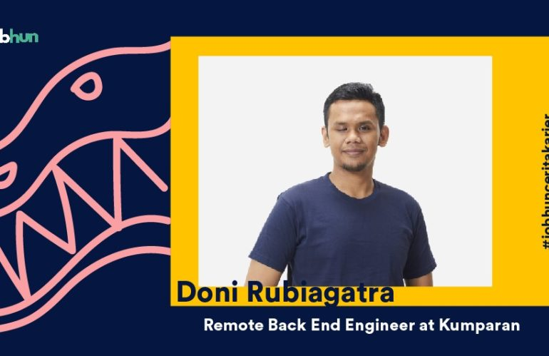 Doni Rubiagatra, Seorang Remote Back End Engineer di Kumparan