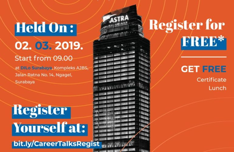 """""""Career Talks: Step Up & Elevate"""" by ASTRA"""