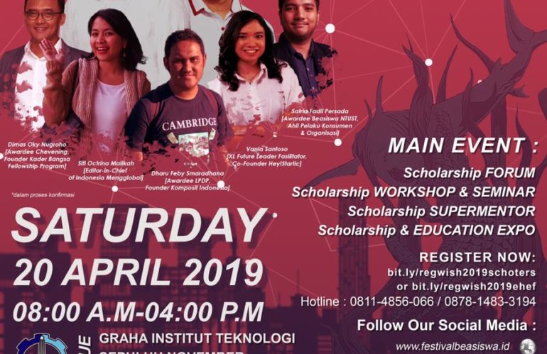 World Indonesia Scholarship (WISH) Festival 2019